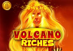 volcano riches logo