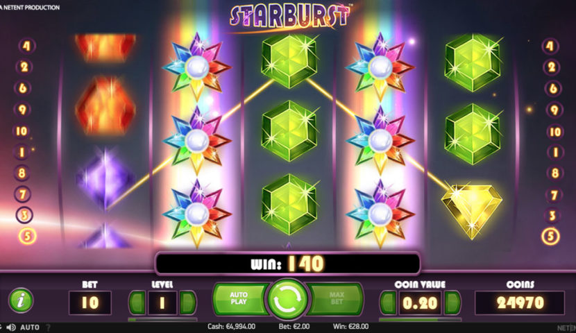 starburst gratis spel
